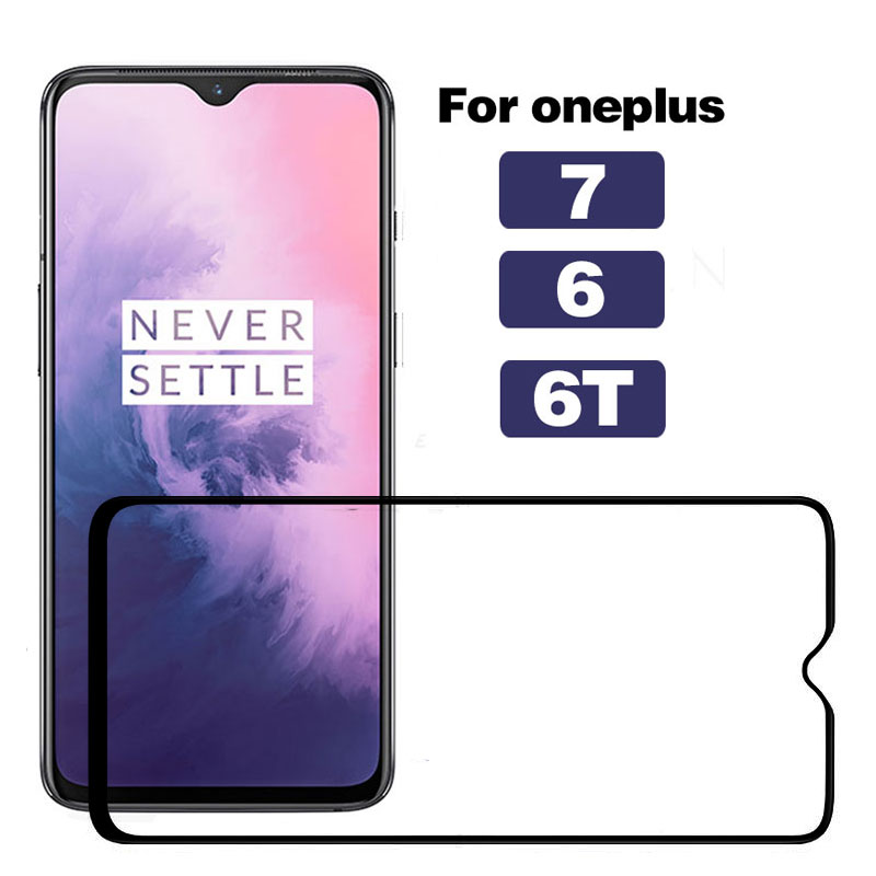 Tempered Glass For Oneplus 7 Screen Protector Phone Safety For Oneplus 6 6T For Oneplus 7 6 6T Cristal Film Protective Glass