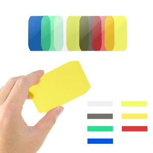Image 2 - Ready Stock 8PCS Selens Colorful Flash Gel Filter for DSLR Camera For Canon Nikon Yongnuo Flash Speedlite