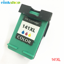 einkshop 141 Compatible Ink Cartridge Remanufactured for HP 141 xl 141xl Photosmart C4283 C4583 C4483 C5283 D5363 Deskjet D4263 dmyon 140xl 141xl ink cartridge compatible for hp 140 141 xl c4583 c4283 c4483 c5283 d5363 d4263 d4363 c4480 cartridges printer