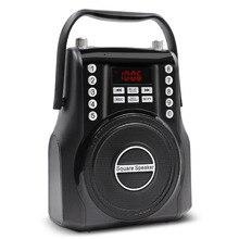 Lefon Портативный FM радио Беспроводной Bluetooth громкая Динамик мощный стерео усилитель MP3 плеера 3,5 мм AUX громкой связи