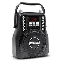 Lefon Portable FM Radio Wireless Bluetooth Loud Speaker Powerful Stereo Amplifier MP3 Music Player 3.5mm AUX Handsfree Talking