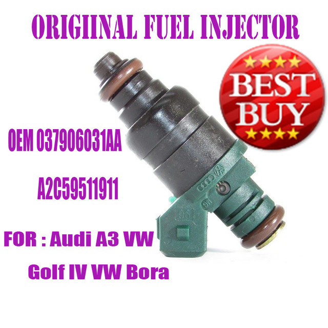 ONE PIECE ORIGINAL Fuel Injector 037906031AA 037 906 031 AA ...