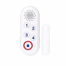 CPVan P3 Alarm host Siren Wireless Burglar Home System alarm open reminder Sensor Window Door to Detect Open