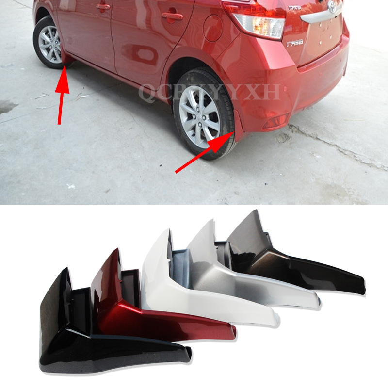 4 unids / lote Car Styling Mud Flap Splash Guard Mudguard Mudflaps - Autopartes