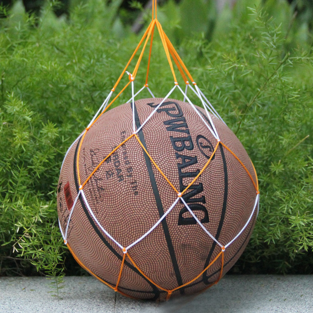 Universal Sporting Accessories Nylon Ball Carry Mesh Basketball Net Bag