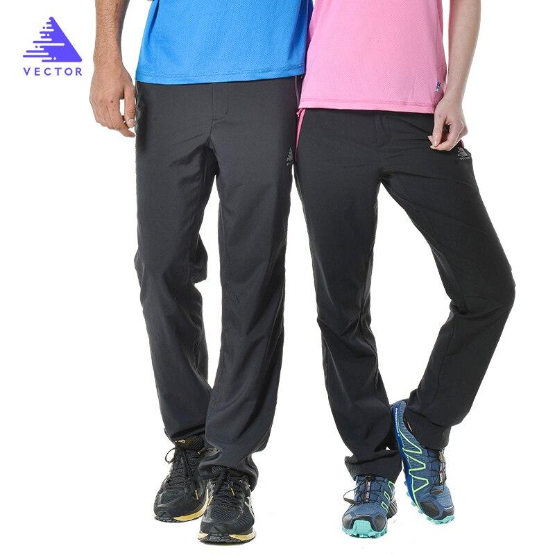 Vector быстросохнущая кемпинг пеший туризм брюки для мужчин для женщин эластичный дышащие Lie спортивные брюки Alpine trekking работает 50026