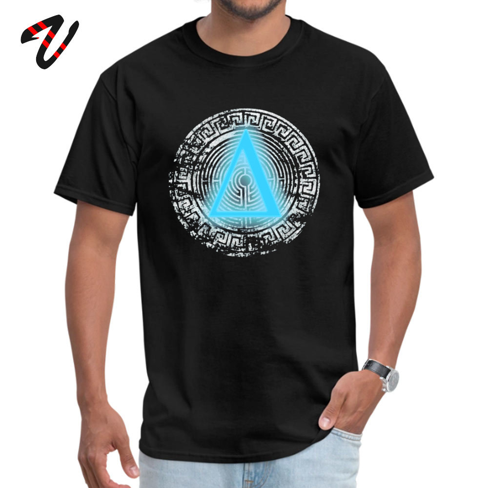 Street Daedalus O-Neck T-Shirt April FOOL DAY Tops T Shirt Short Sleeve for Men New Design 100% Cotton Fabric Top T-shirts Daedalus 12251 black