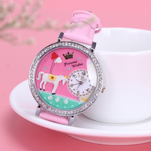 Women's Princess Unicorn Patterned Watch