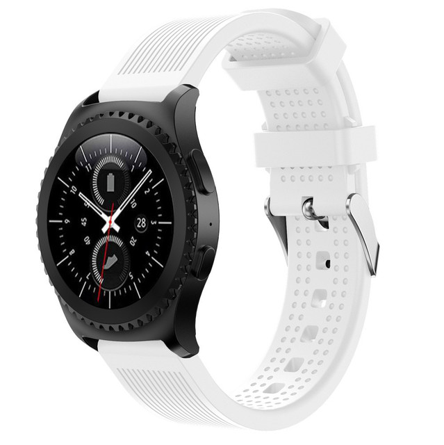 New Arrivals Fashion Sports Silicone Bracelet Strap Band For Samsung Gear S2 Classic 732 Sturdy and durable Aug29