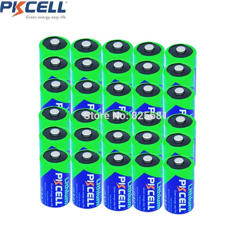 30 pièces PKCELL 3 V CR2 CR15 H270 850 mAh Li MnO2 à usage Unique Batterie Non rechargeable 3 v Batteria Pour Lampe Radio Serrure Électronique-in Piles primaires et sèches from Electronique    1