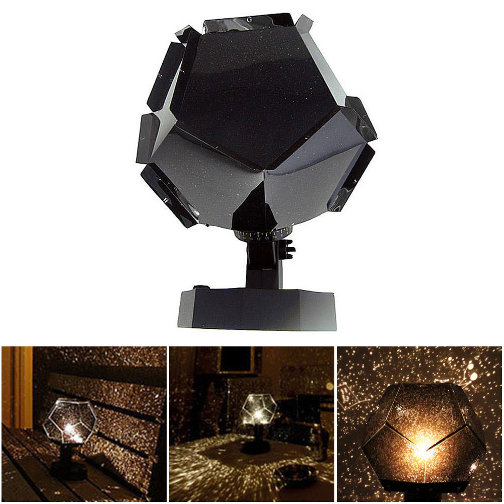 3 Couleurs USB Romantique Astro Star Sky Projecteur Laser Cosmos De Noël Nuit Lumière LED Starlight Projection Lampe Décoration de La Maison