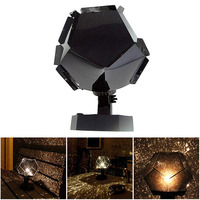 3 Colors Romantic Astro Star Sky Laser Projector Stage Light Cosmos Night Light Projector Family
