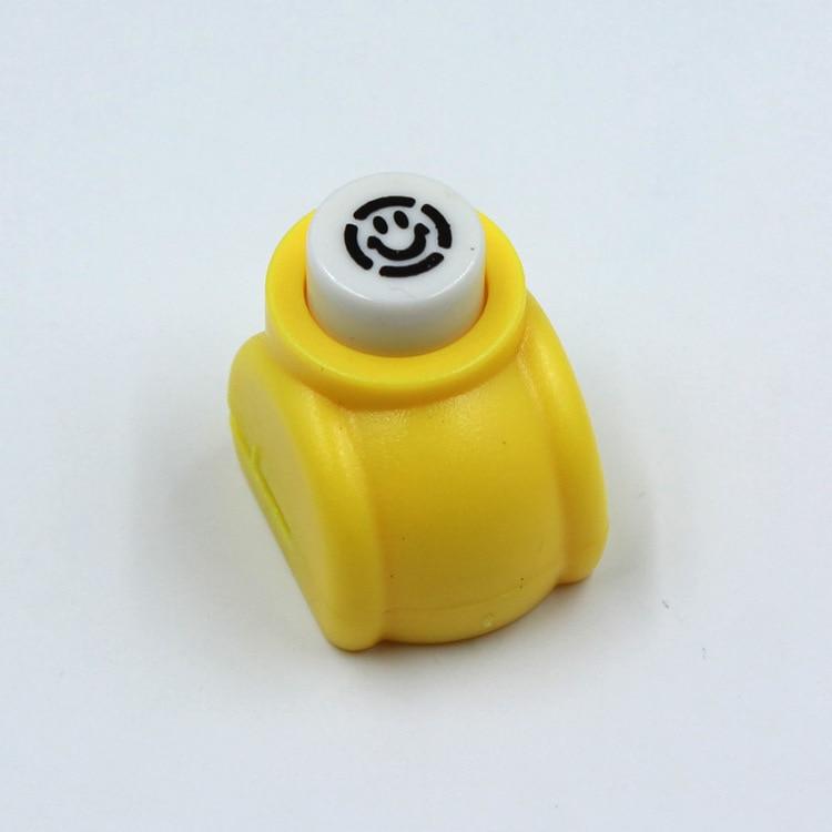1 шт./лот, мини-дырокол для рукоделия, для скрапбукинга, Дырокол ручной работы, дырокол для рукоделия, подарочная карта, бумажный дырокол, CL-1203 - Цвет: smileface