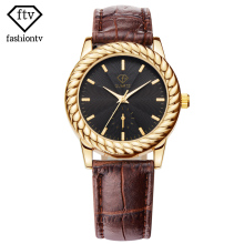 FTV Costume Vogue Prime Model Ladies Wristwatches Enterprise Stunning Leather-based Band Woman Watch Informal Date Waterproof Relogio Feminino