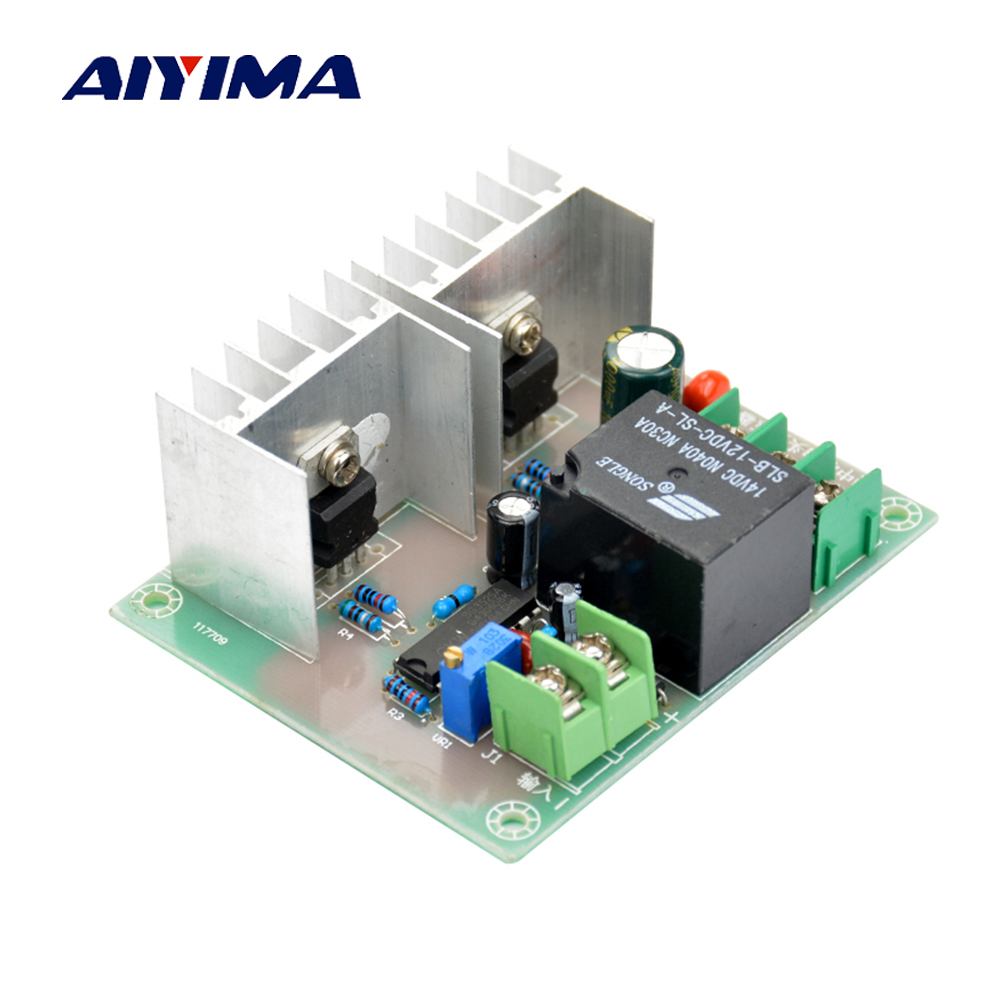 Aiyima 300W Inverter Drive Board DC 12V to AC 220V Inverter Drive Cord Transformer Low Frequency Inverter ne555 drive board after the pole inverter mixer mixing board adjustable duty ratio and frequency of stroboscope