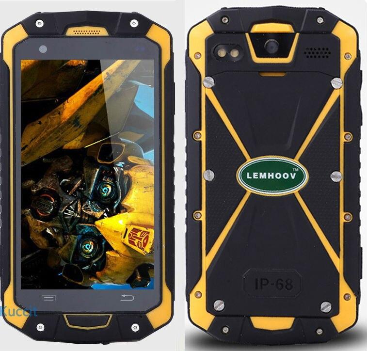 IP68 водонепроницаемый сотовый телефон противоударный радио Walike Talkie разблокированные сотовые телефоны Оригинальный UHF VHF телефон прочный Android NFC S19