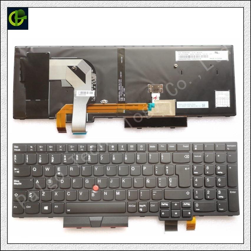 New Original Lenovo Thinkpad T570 P51S Series Laptop Keyboard US Black 01ER530