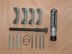 Machines-outils professionnelles alésage cylindre horning outil tête de rodage bloc abrasif double grain meulage hone (39mm-66mm)