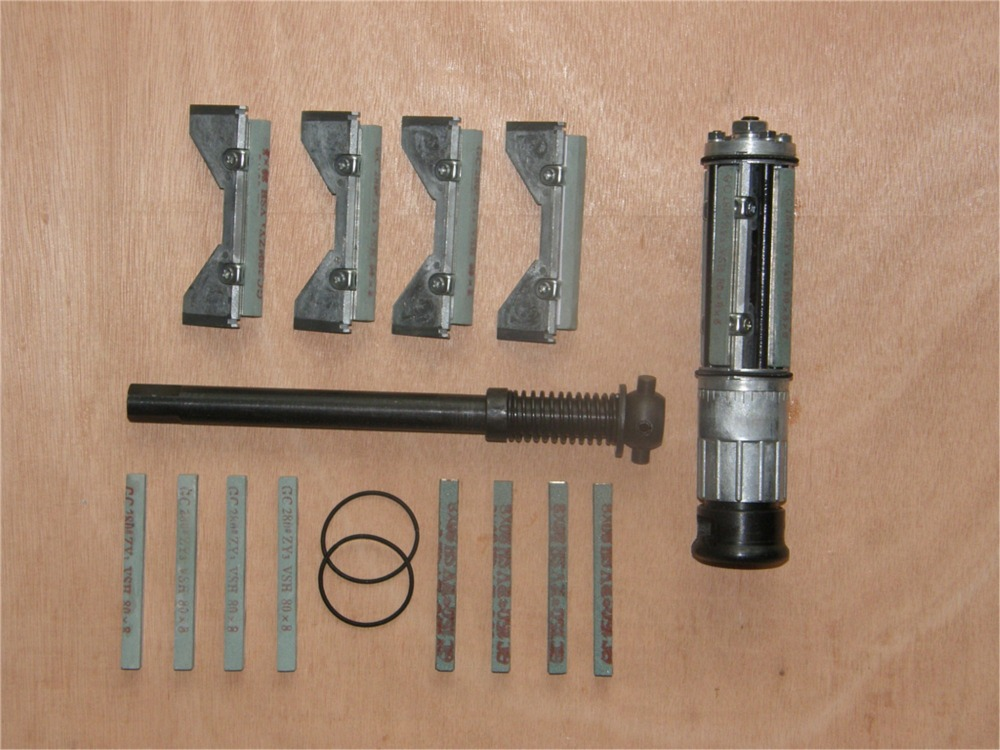 Professional Machine Tools Bore Cylinder Horning Tool Honing Head Abrasive Block Dual Grit Grinding Hone (39mm-66mm)