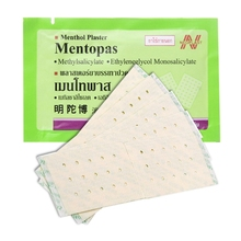 Mentopas Inflammatory Pain Relief Plaster For Neck / Muscle Aches Fatigue Arthritis for health care