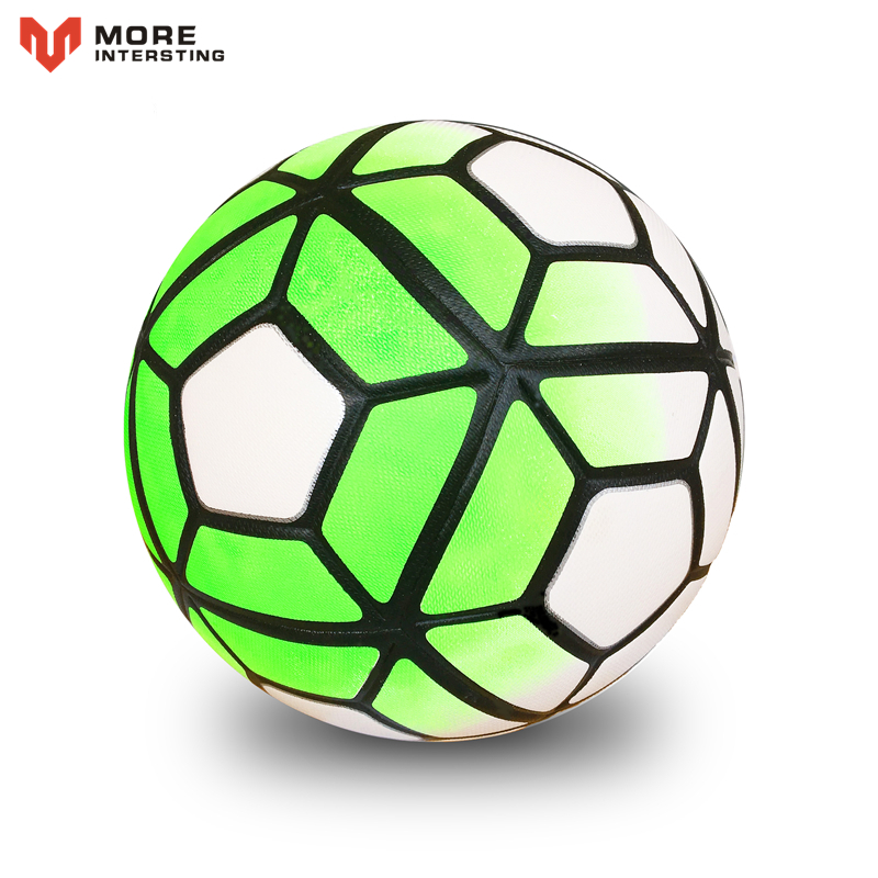 Size 5 Size 4 Seamless PU Football Ball Anti-slip Granules Soccer Ball High Quality For Game Match Training Youth Kids 2