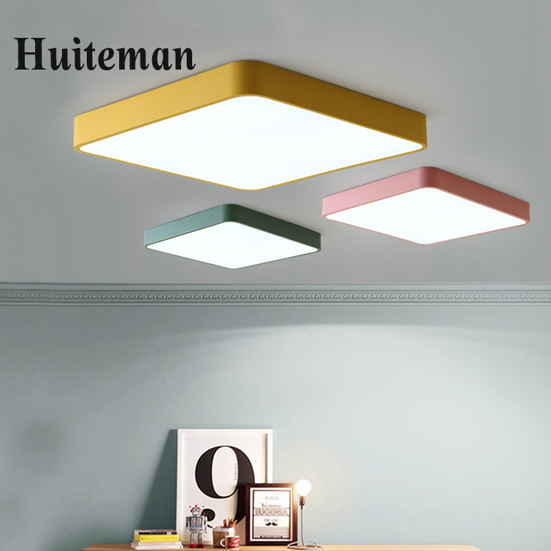 Modern LED Ceiling Lights luminaria led teto Modern Colorful Ceiling lamp for living room kids room aisle Home Light Fixtures modern led ceiling lights colorful cloud ceiling lamps for living room kitchen luminaria kids children bedroom light fixtures