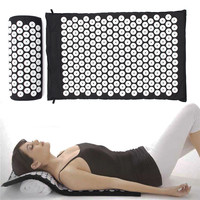 Top Quality Acupressure Massage Cushion Pillow Yoga Mat Bed Pilates Nail Needle Pressure Shakti Neck Relieve