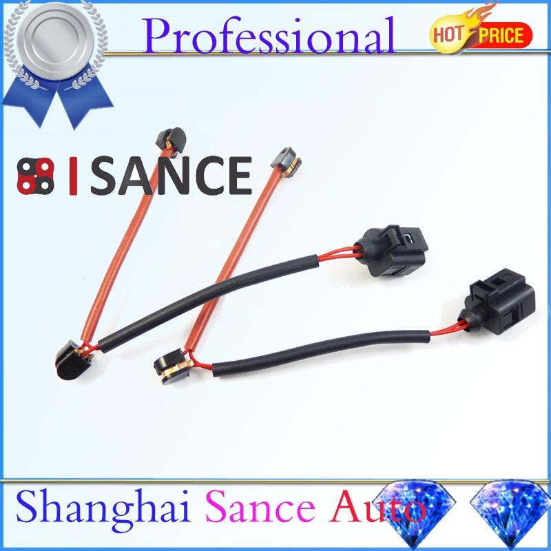 ISANCE 2PCS Rear Brake Pads Sensor 7L0907637 For Audi Q7 VW Touareg Porsche Cayenne 2004 2005 ...