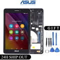 Original For Asus MeMO Pad HD7 ME175CG ME175 K00Z Parts LCD Display Matric Touch Screen Digitizer Sensor Assembly with Frame