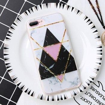 iPhone 8 Plus Silicone Case Marble