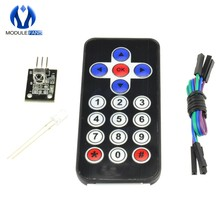 Infrared Remote Control Module Wireless IR Receiver Module DIY Kit HX1838 For Arduino FOR Raspberry Pi(China)