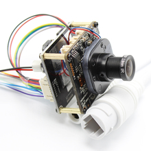 AHWVE POE DIY IP המצלמה מודול לוח עם IRCUT RJ45 כבל מקורה נייד APP XMEYE 1080P 2MP Hi3518E ONVIF h264