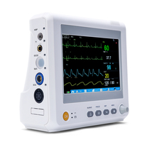Yongrow медицинские 7 дюймов ICU CCU монитор пациента лучшая цена 6 параметров монитора пациента оборудования ICU Монитор пациента Vital Sign