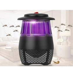Elektryczna lampa zabijająca komary latać łapka na owady urządzenie do zabijania komarów i insektów pułapka led lampa zwalczania szkodników zasilany przez port Usb łapka na owady w Lampy na komary od Lampy i oświetlenie na