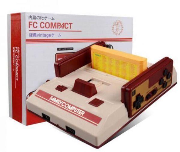 Compatto Video Console di Gioco Con 500 8 Bit Built In Giochi Con 2 Controller Supporto Cartuccia di Gioco