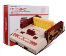 Consola de videojuegos compacta con 500 8 bits de juegos integrados con 2 controladores compatibles con cartucho de juego