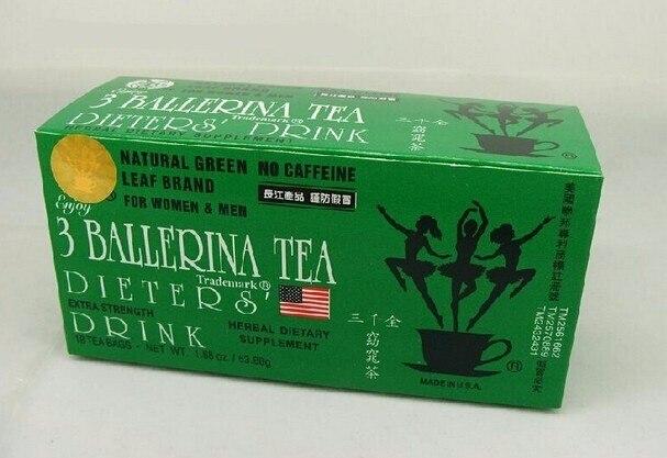 3boxes/lot 3 ballerina tea fat remove tea quick slim tea ...