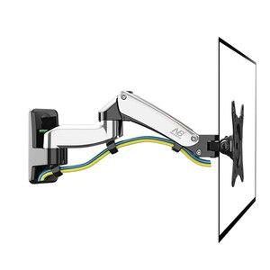 "Image 4 - NB F150 Aluminium Legierung 360 Grad 17 "" 27"" Monitor Halter Gas Frühling Arm LED LCD TV Wand montieren Laden 2 7kgs"