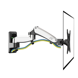 "Image 4 - NB F150 Aluminum Alloy 360 Degree 17"" 27"" Monitor Holder Gas Spring Arm LED LCD TV Wall Mount Loading 2 7kgs"