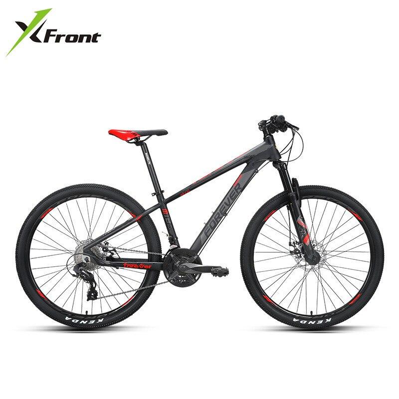 X-Front Mountain Bike 27.5/29 Inch Wheel Aluminum Alloy Frame Disc Brake Damping Fork MTB Bicycle Sports Downhill Bicicleta