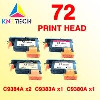 4PCS Compatible For Hp 72 C9380A C9383A C9384A Print Head For T610 T620 T770 Printer