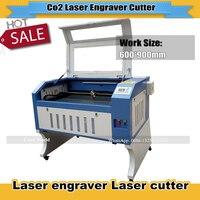 CNC CO2 laser wood engraving machine laser engraver cutting machine 6090 9060 with 80W/90W reci/100W glass laser tube