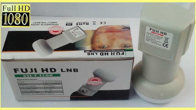 FUJI HD SSI-1100 Best Signal digital HD Universal KU Band Single LNB High Gain Low noise satellite Dish LNB