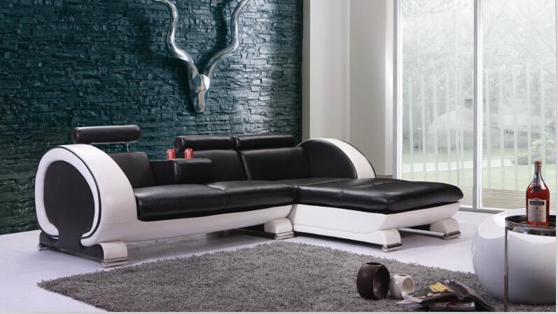 Echtes Leder Sofa Satz Sectional Fr Wohnzimmer Neue Sitzgruppe DesignChina