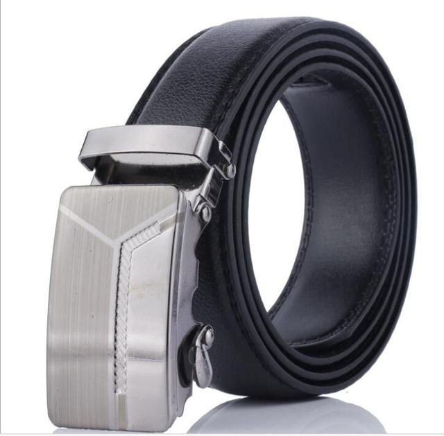 Mens Designer Belts 2018 Real Genuine Leather Automatic Buckle Male  Waistbands Belts Luxury Ceinture Homme Luxe 7f99ecf36a3