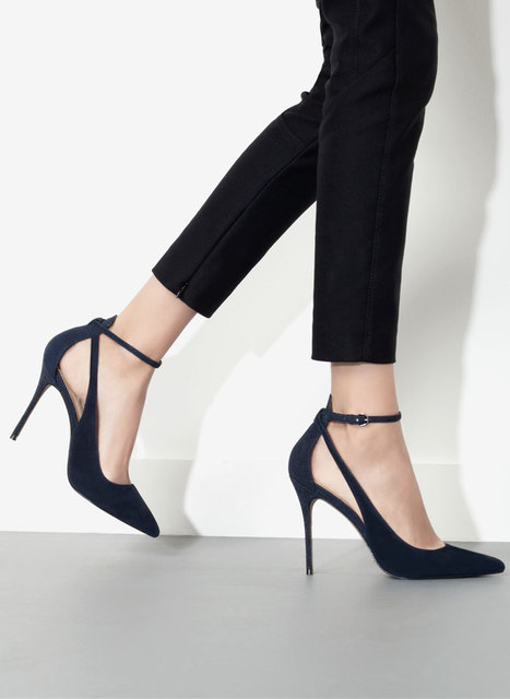 2016 New Arrival Fashion Spring New Europe and the United States Sexy Gladiator Pointed Toe High-heeled Women Pumps