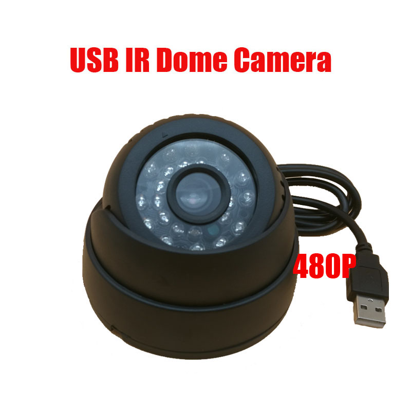 24 IR Led Intelligent Detection Indoor Video Recorder Infrared Night Vision TF Card DVR Camera Security Ir Dome USB Camera IR