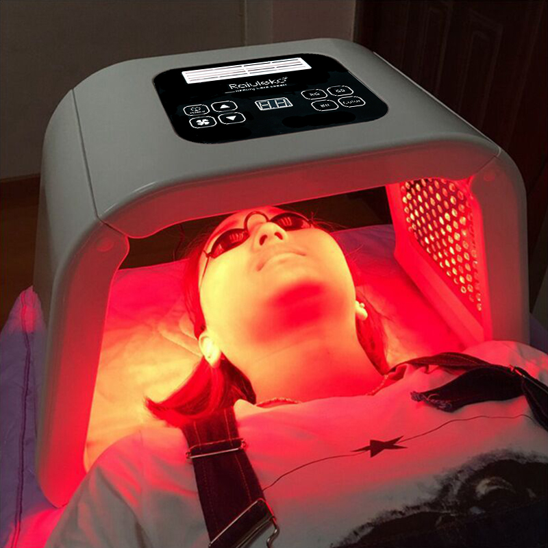 Professional 7 Colors PDF Led Mask Facial Light Therapy Skin Rejuvenation Device Spa Acne Remover Anti-Wrinkle BeautyTreatment 1