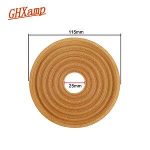 Image 2 - Ghxamp 115 мм 8 дюймовый динамик паук пружинная панель низкочастотный динамик сабвуфер цилиндрическая волна шрапнель Diy 25 мм 2 шт.
