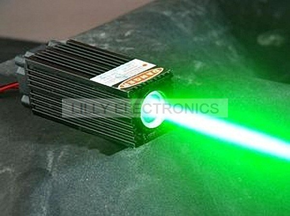 Big Thick Beam 60mW 532nm Pumped Solid State Picosecond Laser Diode Module W/TTL